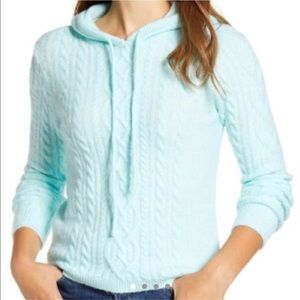 Court & Rowe Ivy Calling Cool Mint Hoodie sweater